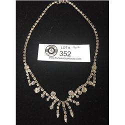 Very Nice Rhinestone Necklace