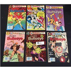 6 Charlton Bullseye Comics from 1981