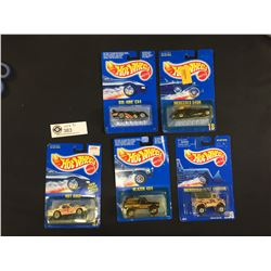 5 1989-1991 Hot Wheels. Sill in The Package