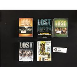 5 Bundles of Trading Cards.4 Different Seasons of Lost. 1 Tattoo Trading Cards