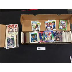 2 Boxes of Hundreds of NFL Trading Cards 1980's-90's