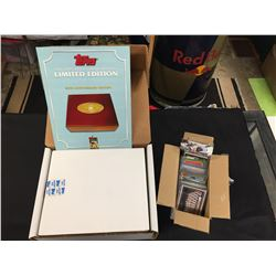 1951-2001 Limited Edition Baseball Card Set, Never Opened with a Nice Wooden BoxPlus a Box of Other