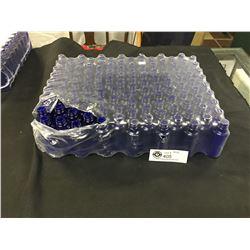 126 Blue Bottles 2 oz Cobalt Blue. New In Package