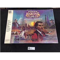 Power Barons Board Game. 1986 Milton Bradley