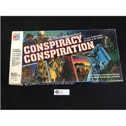 Vintage 1982 Conspiracy Spy Conspiration Board Game