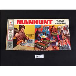 Manhunt. The Electric Computer Detective Board Game.1972