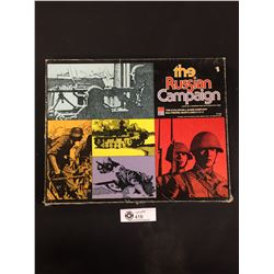 Vintage 1976 The Russian Campaign Board Game