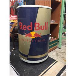 "Red Bull Plug in Cooler/Fridge in Good Working Order. 34"" H x 22"" W"