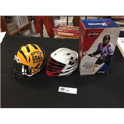 Sports Lot Vancouver Stealth Bobble Head, Helmet Bank and a Riddell Tigers Helmet