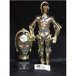 Star Wars C-3PO Helmet and C-3PO
