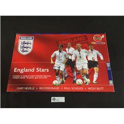 England Stars Football Figurines Paint Yourself Craft Set