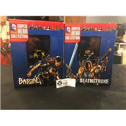 DC  Comics Super Hero Batgirl Deathstroke. New In Package