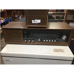 Vintage 1960's Grundig Made in Germany Home Stereo. Working Condition