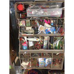 Jammed Pack Full Fishing Tackle Box Full of Fishing Treasures.