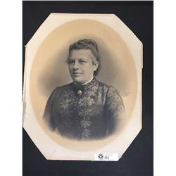 1889 Portrait Photograph by Carl Pietzner (1853-1927)