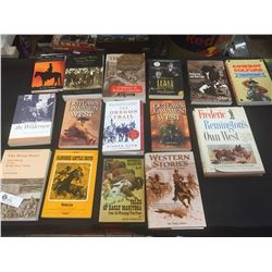 15 Books on the Wild West Including BC Gold Mining, History of BC Oregon Trail