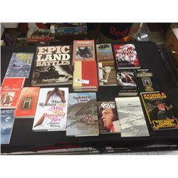 18 Hardcover and Soft Cover Books
