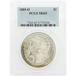 1885-O PCGS MS65 Morgan Silver Dollar