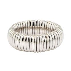 Stretch Band - 18KT White Gold
