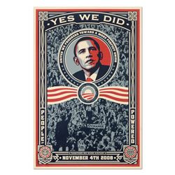 Yes We Did! (2008) by Fairey, Shepard