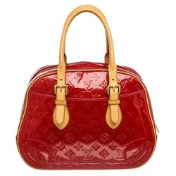 Louis Vuitton Red Vernis Monogram Leather Summit Drive Bag