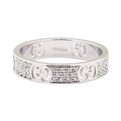 Gucci 0.30 ctw Diamond Ring - 18KT White Gold