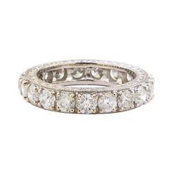 3.25 ctw Diamond Ring - 18KT White Gold