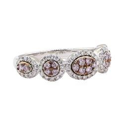 0.61 ctw Diamond Ring - 18KT White Gold