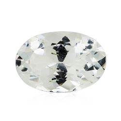 5.93 ct.Natural Oval Cut Aquamarine