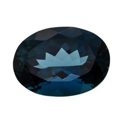 20.54 ct. Natural Oval Cut London Blue Topaz