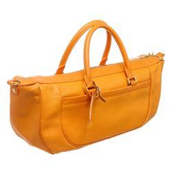 Louis Vuitton Orange Epi Leather Dhanura MM Shoulder Bag