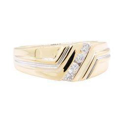 0.40 ctw Diamond Ring - 14KT Yellow Gold