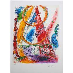 Marc Chagall Circus III