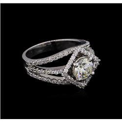2.97 ctw Diamond Ring - 14KT White Gold