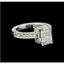 18KT White Gold 1.42 ctw Diamond Ring