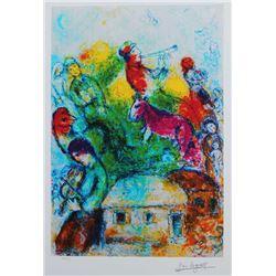 Marc Chagall Shofar