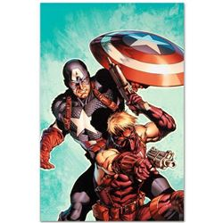 "Marvel Comics ""Ultimate Avengers #2"" Numbered Limited Edition Giclee on Canvas by Carlos Pacheco wit"