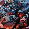 """Image 2 : Marvel Comics """"Siege #3"""" Numbered Limited Edition Giclee on Canvas by Oliver Coipel with COA."""