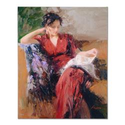 Pino (1939-2010),  Resting Time  Artist Embellished Limited Edition on Canvas, AP Numbered and Hand