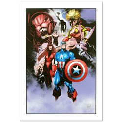 """Avengers #99 Annual"" Limited Edition Giclee on Canvas by Leonardo Manco and Marvel Comics. Numbered"