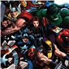 """Image 2 : Marvel Comics """"Son of Marvel: Reading Chronology"""" Numbered Limited Edition Giclee on Canvas by John"""