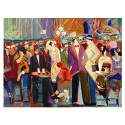 Isaac Maimon,  La Grande Barre  Limited Edition Serigraph, Numbered and Hand Signed with Letter of A