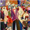 "Image 2 : Isaac Maimon, ""La Grande Barre"" Limited Edition Serigraph, Numbered and Hand Signed with Letter of A"