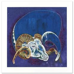 "Lu Hong, ""Capricorn"" Limited Edition Giclee, Numbered and Hand Signed with COA."