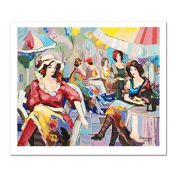 "Michael Kerman, ""Cafe"" Limited Edition Serigraph, Numbered and Hand Signed with Certificate of Authe"