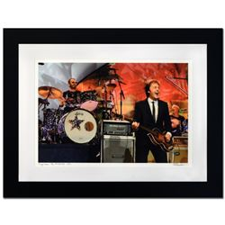 """Ringo Starr & Paul McCartney"" Limited Edition Giclee by Rob Shanahan, Numbered and Hand Signed with"