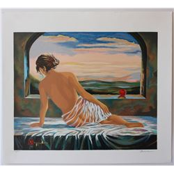 "Alexander Borewko- Original Serigraph on Paper ""Sweet Morning"""