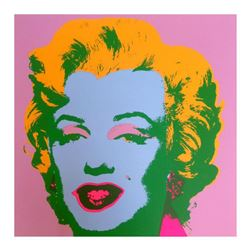 "Andy Warhol ""Marilyn 11.28"" Silk Screen Print from Sunday B Morning."