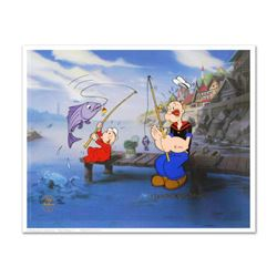 """The Big One"" Limited Edition Hand Painted Animation Cel. Numbered and Hand Signed by Myron Waldman"