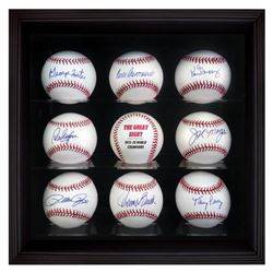 """Starting 8 Ball Set"" Cased Set of 8 Baseballs Signed by the Big Red Machine's Starting Eight. Inclu"